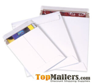 100 9x11 5 Rigid Photo Mailers Envelopes Stay Flats