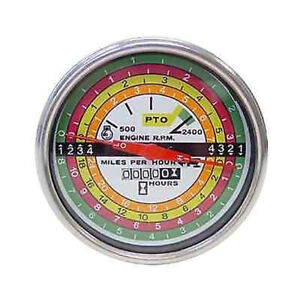 388588r91 Tachometer W White Facing For Case ih Tractors 706 756 766 806 826