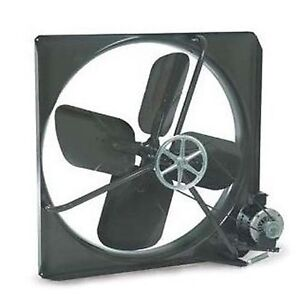 48 Exhaust Fan Belt Driven 115v 17 100 Cfm 365 Rpm 1 2 Hp 11 Amps