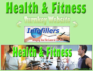 Health Fitness Self Updating Turnkey Website Automated