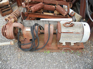 15 Hp 3 X 2 Gould Water Pump On Skid