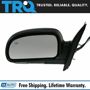 Power Heated Signal Mirror Left Hand Lh Driver Side For Chevy Gmc Isuzu Olds