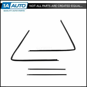 Window Run Channel Seals Weatherstrip For 66 77 Ford Bronco