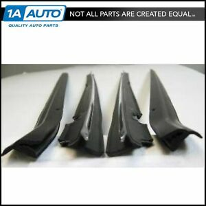 Window Sweep Set 4 Piece Kit For 87 93 Ford Mustang Coupe