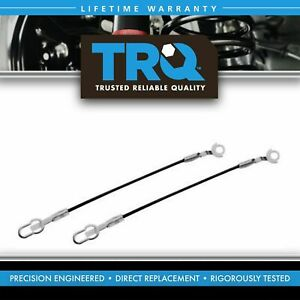 Trq Tailgate Tail Gate Cables Pair Set For 93 11 Ford Ranger Mazda Pickup Truck
