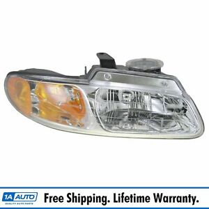 Headlight Headlamp Passenger Side Right Rh New For 96 99 Grand Caravan Voyager