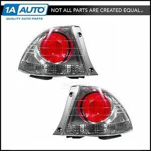 Outer Taillights Taillamps Left Right Pair Set For 04 05 Lexus Is300 Sedan