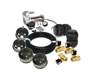S10 Basic Front Kit Viair 444c valves air Bags Air Ride
