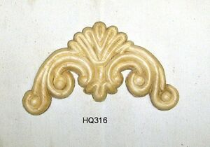 Wood Embossed Applique 2 1 2 H X 5 W Hq316