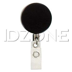 Qty 100 New Round Heavy duty Badge Reel 2120 3305
