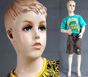 Child Mannequin Manikin Fiber Glass Full Body Boy 45 Manequin Sky