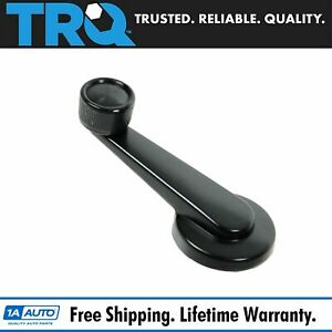Trq Black Inside Interior Window Crank Handle For Chevy Gmc Olds Pickup Truck