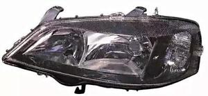 98 03 Opel Astra G Headlight Front Lamp Left Black