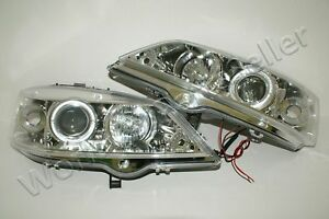 98 03 Opel Astra G Projectror Led Clear Headlights Pair