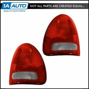 Taillights Taillamps Rear Brake Lights Pair Set For Chrysler Dodge Plymouth
