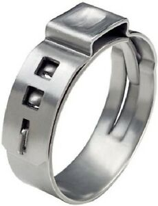 Pex Stainless Clamp Oetiker 1 Cinch Crimp Ring 500 Pc
