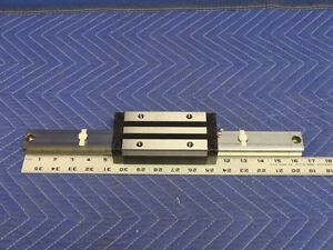 Thk Shs35lv Linear Motion Ball Bearing 6 On Square Rail Guide 16 1 2 Q21