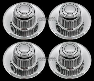 4 Fits Chevy Gm Rally Wheel Center Hub Caps 15x8 15x7 Rim Derby Cap Trim Rings