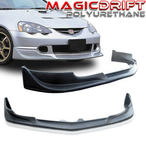 For 02 03 04 Acura Rsx Cw West Style Polyurethane Bumper Front Lip Pu Urethane