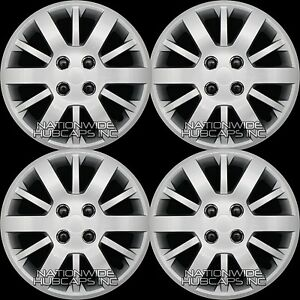 15 Set Of 4 Chevy Cobalt Aveo G5 Bolt On 4 Lug Hub Caps Full Wheel Covers R15