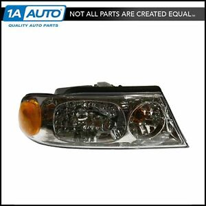 Headlight Headlamp Passenger Side Right Rh New For 98 02 Lincoln Navigator