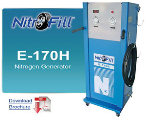 Nitrofill Nitrogen Generator For Industrial Use Not For Tires