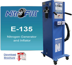 Nitrofill E 135 Nitrogen Generator For Tires