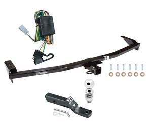 Trailer Tow Hitch For 03 08 Honda Pilot 01 06 Acura Mdx Pkg W Wiring
