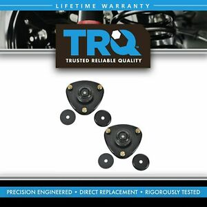 Front Upper Strut Mounts W Bearing Pair Set For Honda Odyssey Pilot Acura Mdx