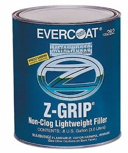 Evercoat 282 Z Grip Non Clog Lightweight Auto Body Filler W Hardener