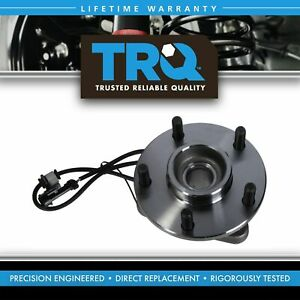 Trq Front Wheel Hub Bearing Assembly New For Jimmy Blazer S 15 S10 2wd W Abs