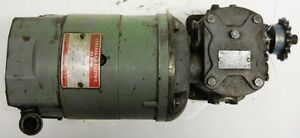 General Electric Dc Motor 5bcd56cb79 W sterling Power Systems Gearbox