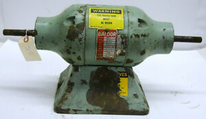 Baldor Grinder Motor 7308 1 2 Hp Type 4 620m 208 220 440 Volts 60 Cycles