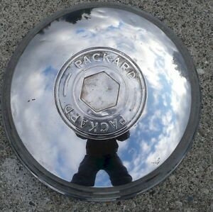 1940 S Packard 9 3 4 Inch Opening Hubcap Wheel Cover