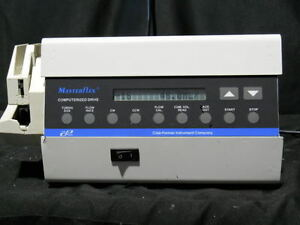 Cole Parmer Masterflex Computerized Peristaltic Pump 7550 90 W Head 7518 12