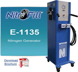 Nitrofill E 1135 Nitrogen Generator Best For Industrial Use Not For Tires
