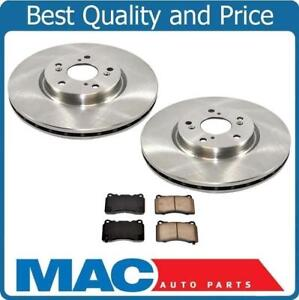 Front Rotors Pads W Brembo Calipers For Acura Tl Manual Transmission 2004 2008