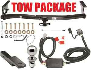 Trailer Hitch Package Hitch Ballmount Wiring For 1998 2008 Subaru Forester