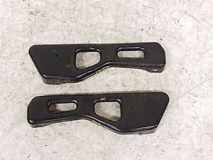 Jeep Wrangler Tj Lh Driver Seat Fixed Riser Mount Brackets 97 02 Bracket Pair