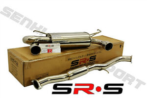 Srs Stainless Steel Dual 3 Catback Exhaust For 02 07 Nissan 350z Jdm 03 Ss