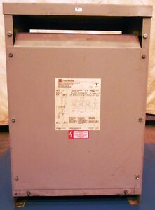 Cutler hammer Dry Type Distribution Transformer V48m22t45n