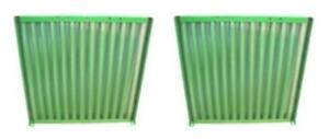 Ar72950 2 Two Side Screens Fits John Deere Tractor 2030 2130 1520 2020
