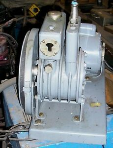 1 2 Hp Welch Duo Seal Vacuum Pump 115 230 Volts Item 8392