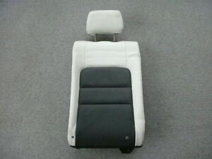 Mazda 6 Mazdaspeed Black White Leather Right Rear Seat Back
