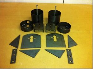 1961 69 Lincoln Continental Front Rear Bag Brackets Cups Air Ride Suspension