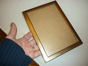 Vintage Wall Picture Photo Frame Brass Plated H1 148