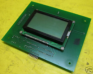 Delta Platinum Series Lcd Display Board 120k00442 B Process Oxygen Analyzer Plc