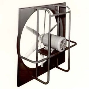 24 Explosion Proof Exhaust Fan 230 460v 3 Ph 1hp 6 Blade Direct Drive