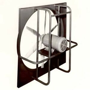 30 Explosion Proof Exhaust Fan 115 230 Volts 1 Phase 1 3 Hp 4 Blade