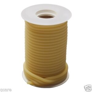 50 Ft Reel 1 8 Id X 1 16 X 1 4 Od Surgical Amber Latex Rubber Tubing W Feet